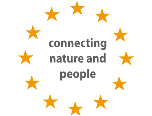 Logo: connecting nature and people